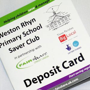 Weston Rhyn Primary School Saver Club