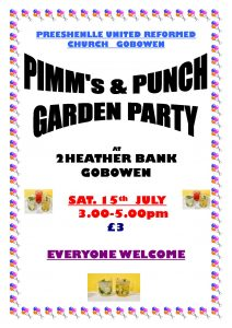 Pimm's & Punch Garden Party