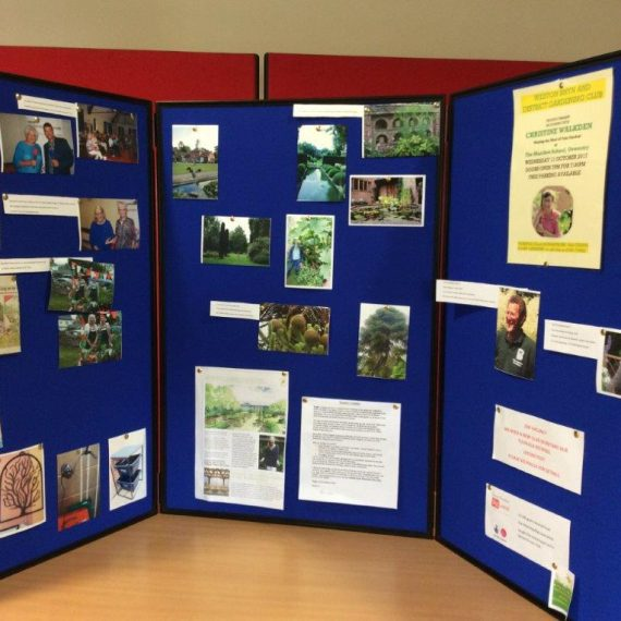Weston Rhyn Display board