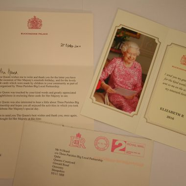 90th Birthday card for the Queen competition – May 2016