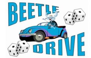 Beetle Drive with an Easter theme