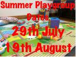 Gobowen Baby and Toddlers - summer sessions