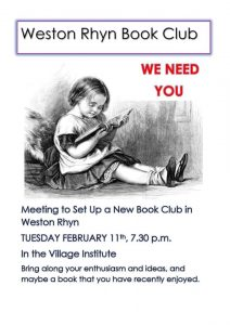 Weston Rhyn Book Club